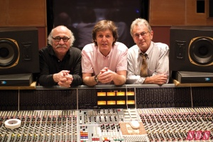Tommy LiPuma, Paul McCartney and Al Schmitt
